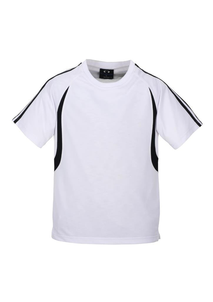 Biz Collection-Biz Collection Kid's Flash Tee 2nd ( 5 Colour )-White / Black / 4-Corporate Apparel Online - 6