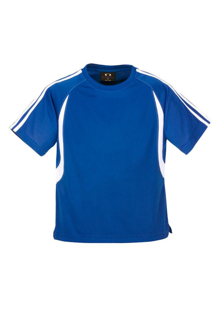 Biz Collection-Biz Collection Kid's Flash Tee 2nd ( 5 Colour )-Royal / White / 4-Corporate Apparel Online - 4