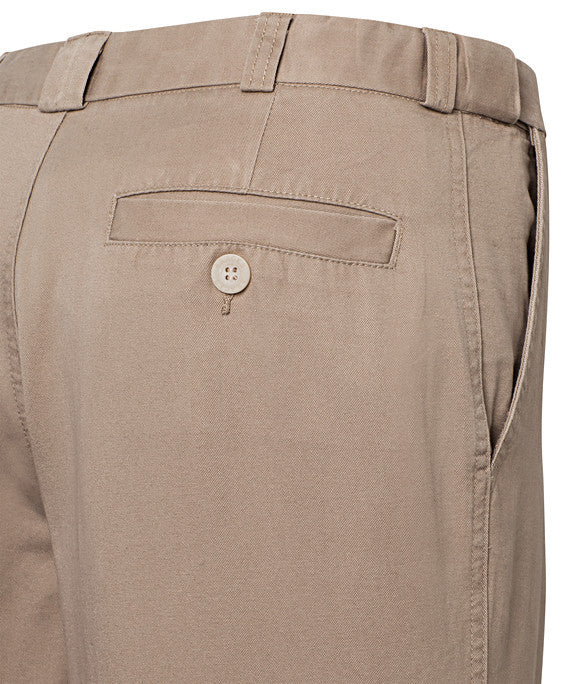 Bracks-Bracks Cotton Pant With Ezi Fit Waist Band--Corporate Apparel Online - 2