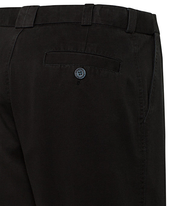 Bracks-Bracks Cotton Pant With Ezi Fit Waist Band--Corporate Apparel Online - 4