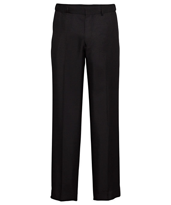 Bracks Easy Care Flat Front Trouser With Extendable Waistband