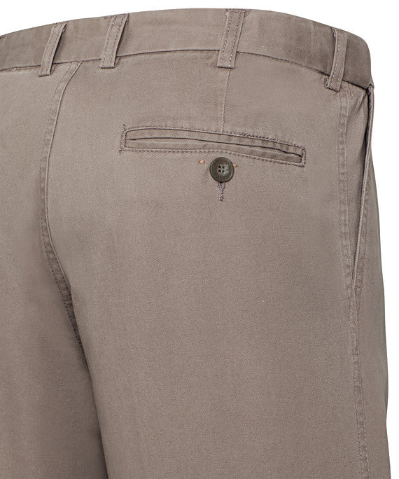 Bracks-Bracks Cotton 2 Pleat Pant With Ezi Fit Waist Band--Corporate Apparel Online - 4