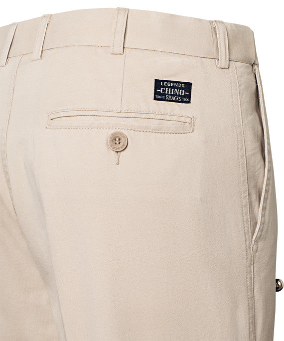 Bracks-Bracks Cotton 2 Pleat Pant With Ezi Fit Waist Band--Corporate Apparel Online - 8