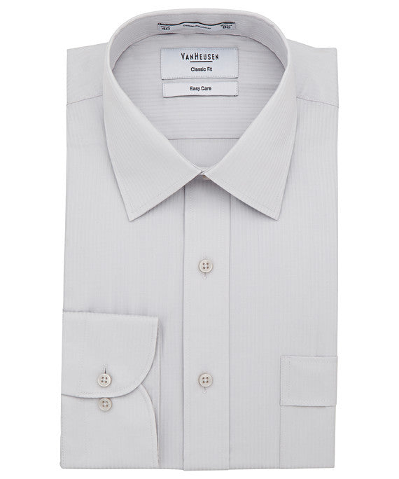 Van Heusen-Van Heusen Gents Cotton Polyester Mini Herringbone Classic Fit Shirt(2nd 2 Colours)--Corporate Apparel Online - 2
