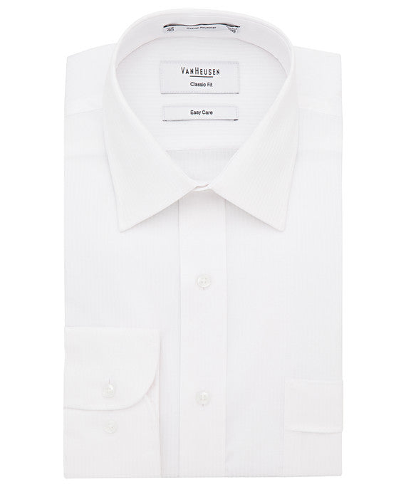Van Heusen-Van Heusen Gents Cotton Polyester Mini Herringbone Classic Fit Shirt(2nd 2 Colours)--Corporate Apparel Online - 4