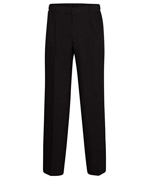 Bracks 2 Pleat Plain Weave Trouser With Extendable Waistband