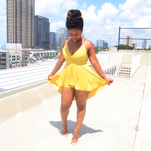 Load image into Gallery viewer, Canary Yellow Romper
