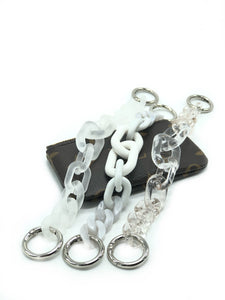 Key Chain in White