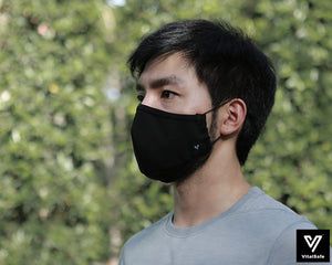 VitalSafe M™ Antiviral Antibacterial Reusable Fabric Face Mask | HeiQ Viroblock Technology