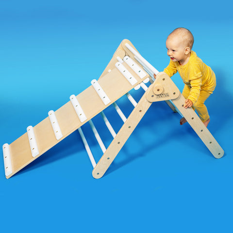 Pikler Triangle With Ladder and Slide