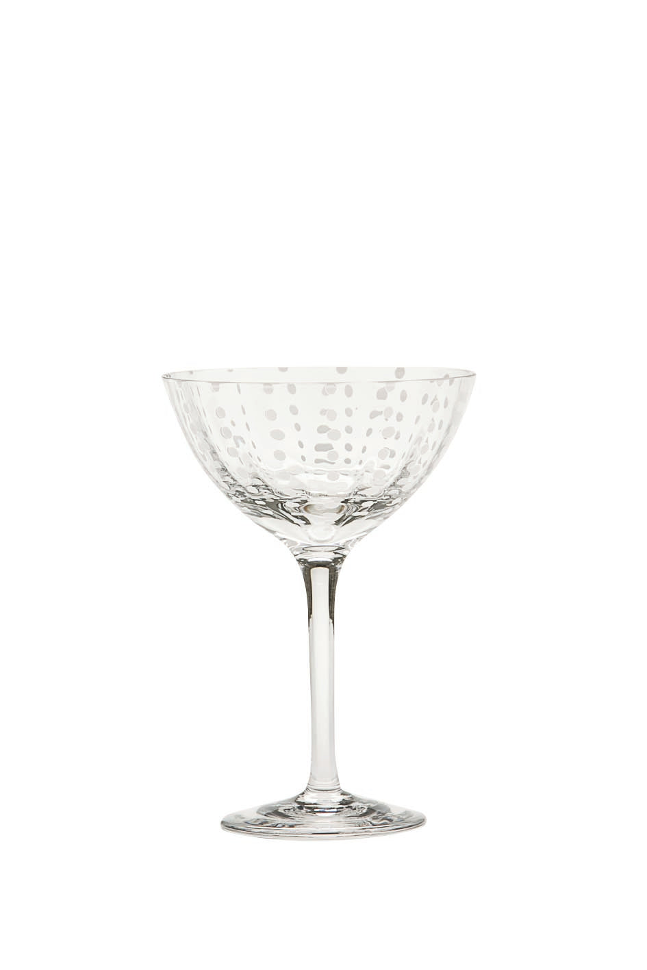 Perle Cocktail Glass - Transparent