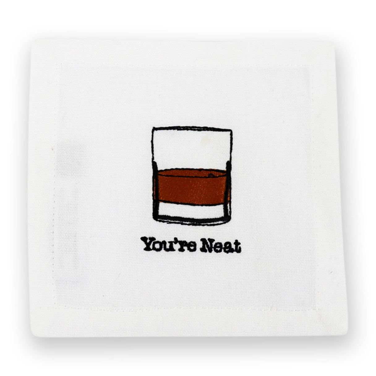 You're Neat Cocktail Napkins, Set of 4