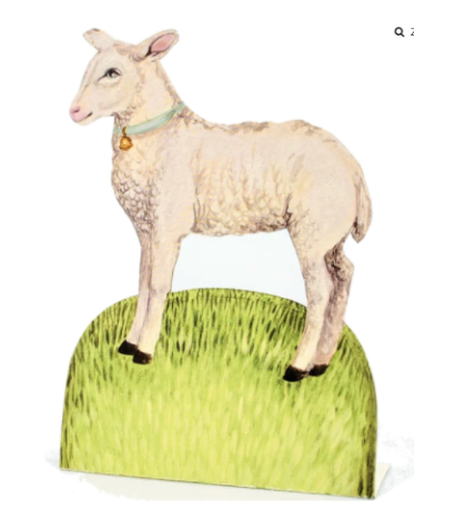 Little Lamb Place Card