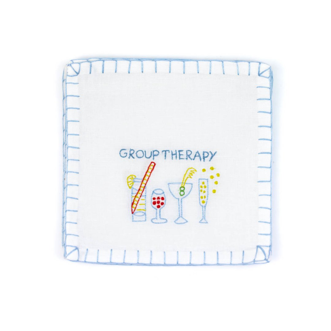 Group Therapy Cocktail Napkins, Set of 6