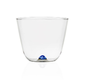 Bambus Party- Water Glass, light blue