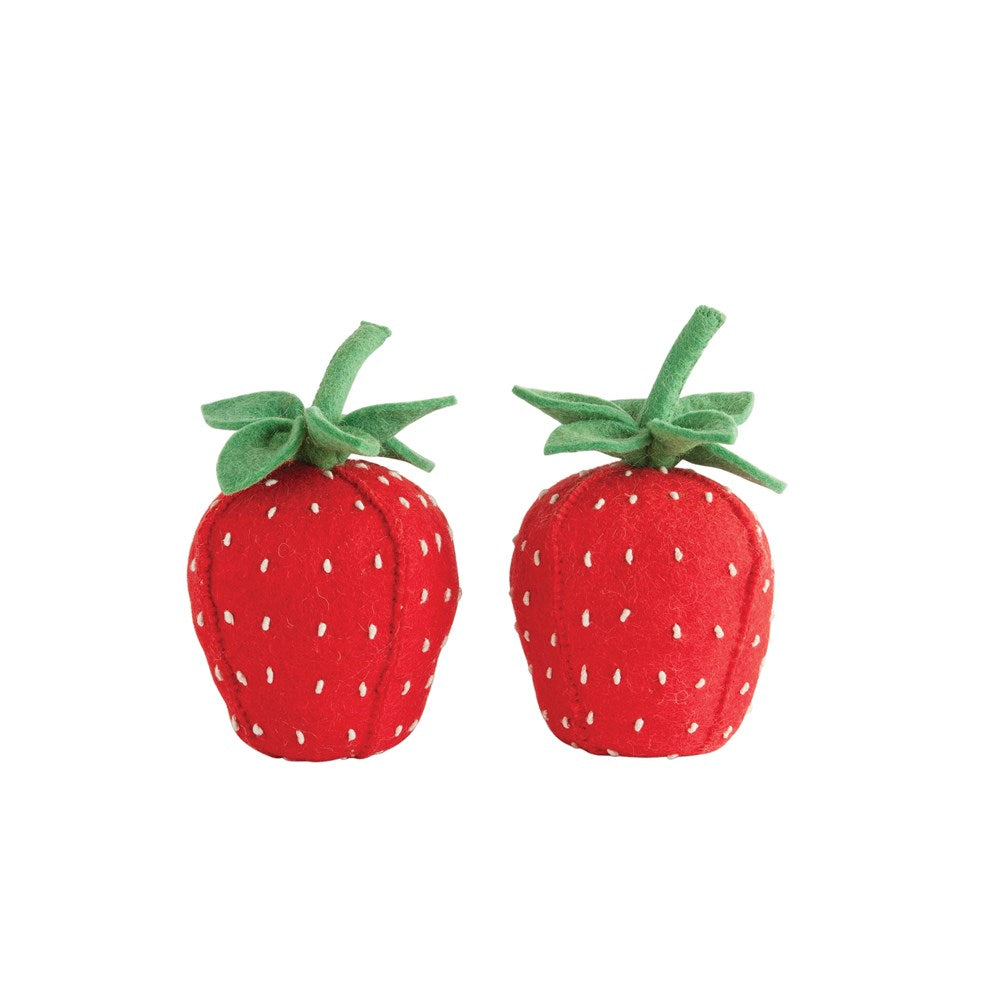 Strawberry Bookends