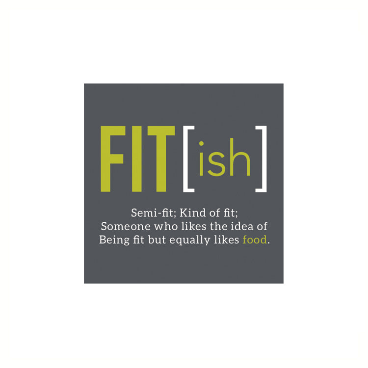 Fit(ish) Cocktail Napkins, Pack of 20