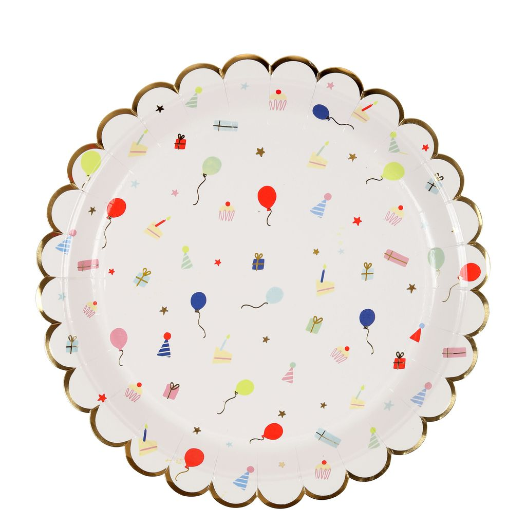 Party Icon Plate Large