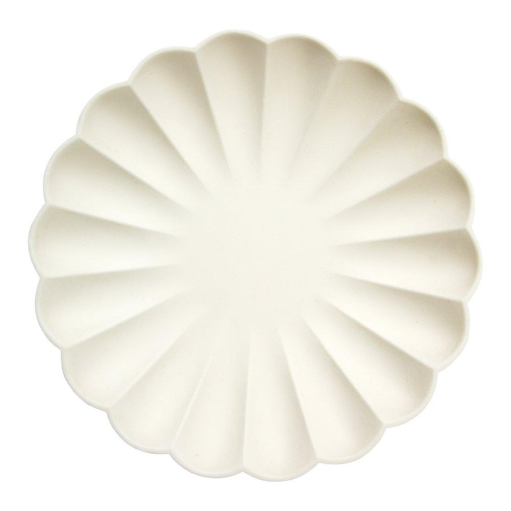 Simply Eco Large Plate- Cream