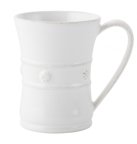 Berry & Thread Mug - White