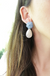 Blue Spring Earrings