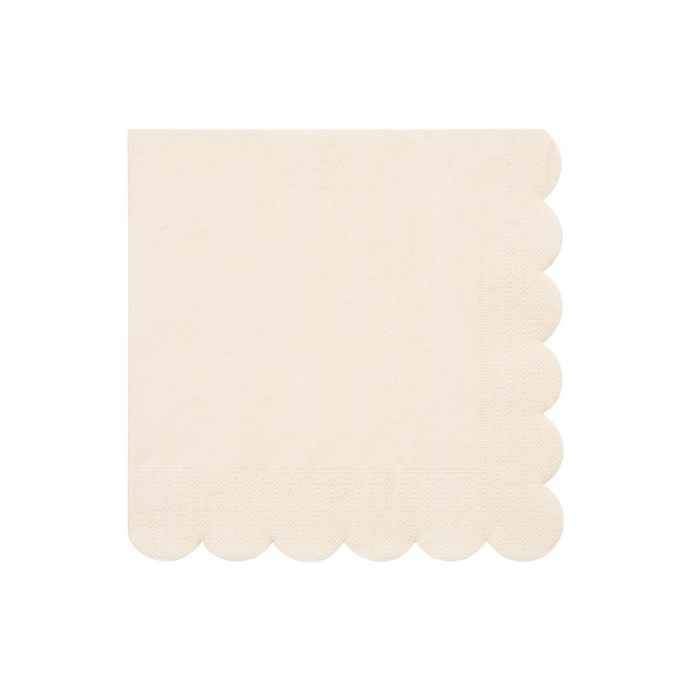 Simply Eco Large Napkins- Cream