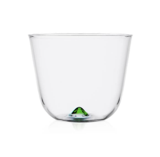 Bambus Party - Water Glass, Green