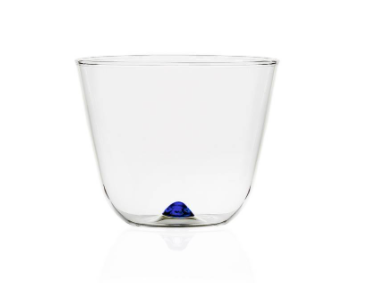 Bambus Party-  Water Glass, Dark Blue