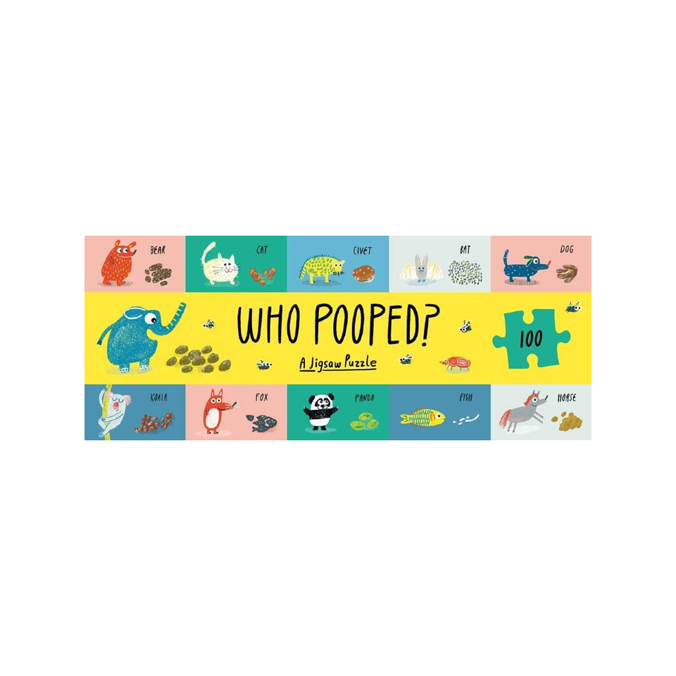 Who Pooped? Jigsaw Puzzle