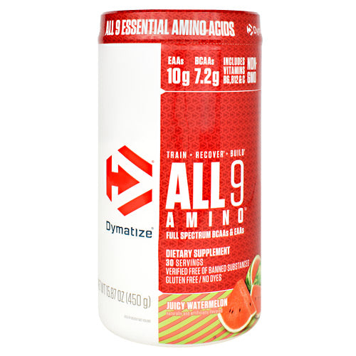 All 9 Amino, 30 Servings- 15.87 oz (450g)