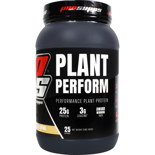 Plant Perform, Vanilla Creme, 2 LBS (25 Servings)