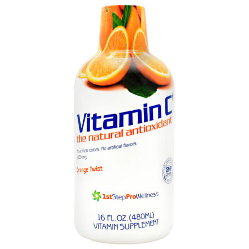Vitamin C, Orange Twist, 16 FL. OZ. (480 ML)