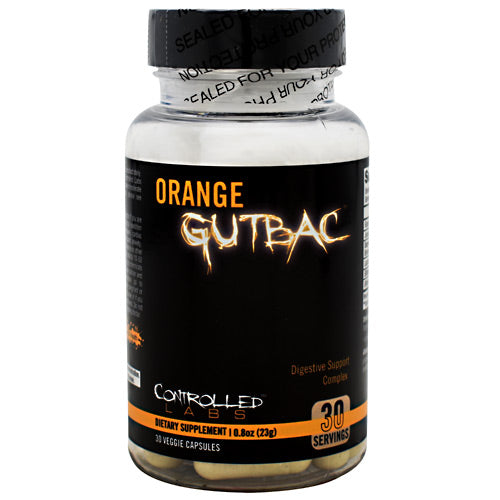 Orange Gutbac, 30 Veggie Capsules