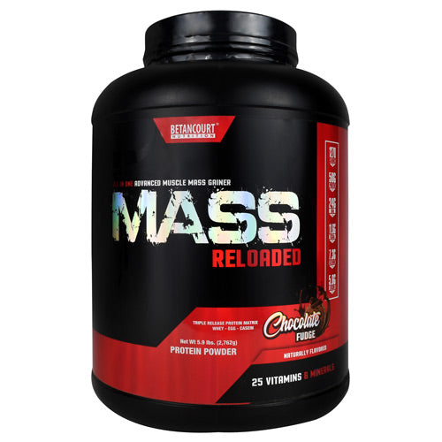 Mass Reloaded, Chocolate Fudge, 8 Servings (5.9 lbs)