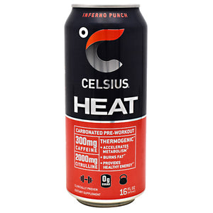 Celsius Heat, 12 - 16 fl oz (473mL) Cans