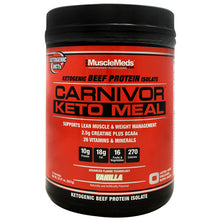 Load image into Gallery viewer, Carnivor Keto Meal 14/scoop