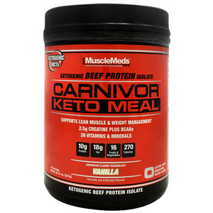 Carnivor Keto Meal 14/scoop