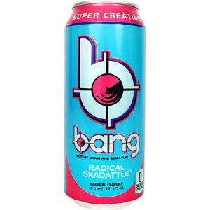 Bang, Radical Skadattle, 12 per Case - 16 fl oz (1 PT) 473 ml