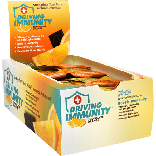 Driving Immunity, Chocolate Orange, 50 Pieces