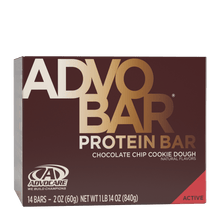 Load image into Gallery viewer, AdvoBar Protein Chocolate Chip Cookie Dough
