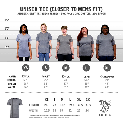 unisex athletic grey t shirt
