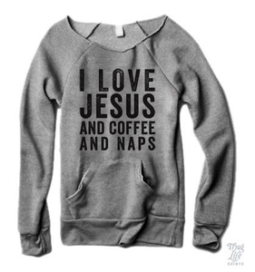 Jesus Coffee Naps Sweater