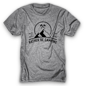 Rather Be Camping Shirt
