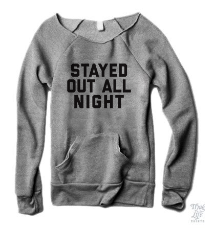 Stayed Out All Night Sweater