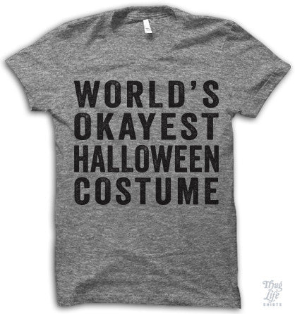 World's Okayest Halloween Costume