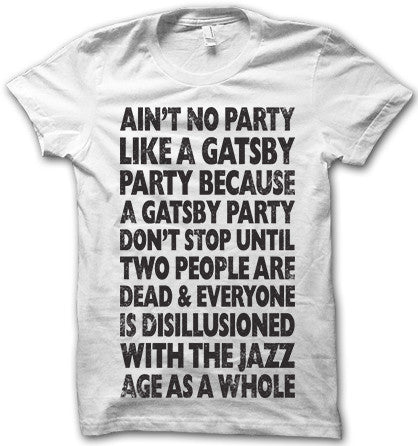 Ain't no party like a gatsby party