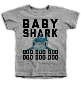 Baby Shark Kids Tees