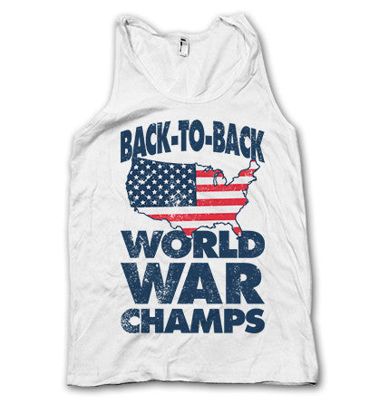 Back To Back World War Champs Tank