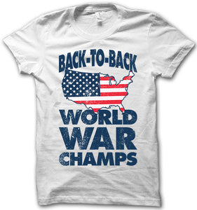 Back to back world war champs!