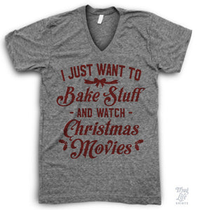 Bake Stuff V Neck